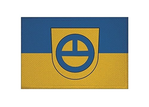 U24 Aufnäher Leinfelden-Echterdingen Fahne Flagge Aufbügler Patch 9 x 6 cm