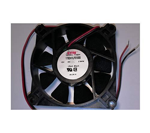 ETRI 173DH1LP31000 Ventilador 12-2,6W - 80x80x20mm