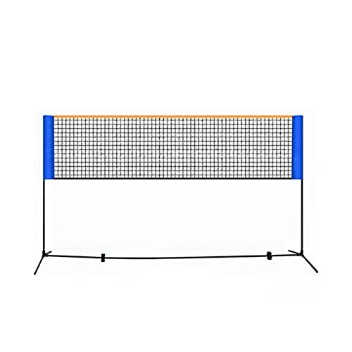 Net Pour Tennis, Badminton, Pickleball, Ensemble De Badminton Portatif, Mini Tennis & Badminton Ensembles Pour Backyards, Setup Easy Setup Net De Sport Avec Polonais, Développer 3 Mètres, Sac De Tra
