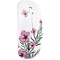 LSGAE 2.4G Slim Wireless Mouse with Nano Receiver