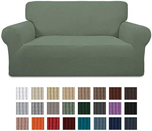 Best Easy-Going Stretch Loveseat Slipcover 1-Piece Sofa Cover Furniture Protector Sofa Shield Couch Soft