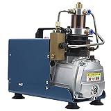 Bomba de compresor de aire automática 30Mpa / 4500PSI, 1800W Bomba de compresor de aire de alta presión Bomba de compresor Bomba de aire de alta presión Inflador PCP Pistola(EU 220V)