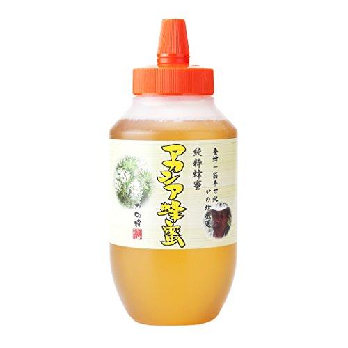 はちみつ 専門店【かの蜂】 厳選 中国産 アカシア 蜂蜜 1000g( 1kg ) 純粋 蜂蜜 (とんがり容器)