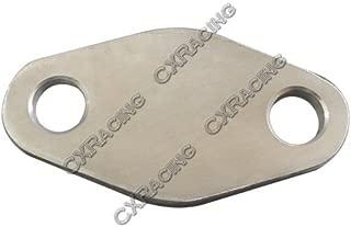 CXRacing Water Hot Air Heater Block Plate For 1JZ-GTE 2JZ-GTE Engine 1JZGTE 2JZGTE