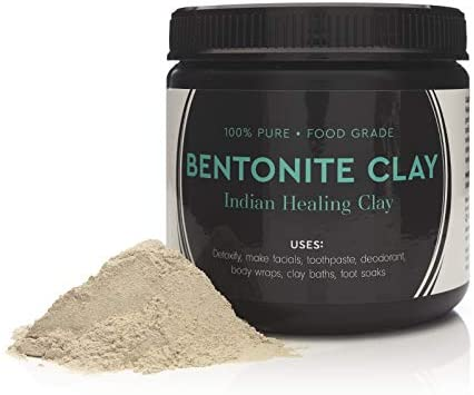 Food Grade Sodium Bentonite Clay Powder 1 Pound product image