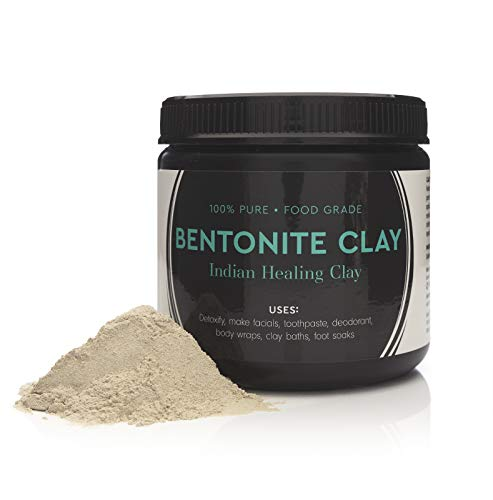 Food Grade Sodium Bentonite Clay - Powder - 1 Pound