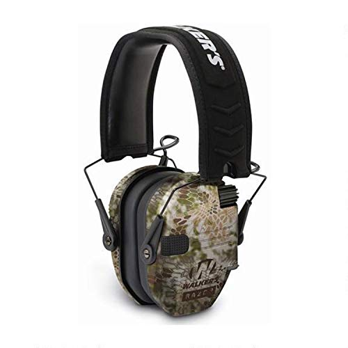 Walkers Game Ear GWP-RSEM-KPT Walker's Razor Slim Electronic Muff - Kryptek Camo