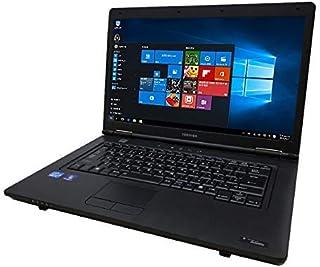 【Amazon.co.jp 限定】東芝 ノートPC/第三世代Core i5/Win10/MS Office 2019/メモリ:8GB/DVD/Wi-Fi/15.6型液晶/Zeroセキュリティーソフト(整備済み品) (HDD 320GB)