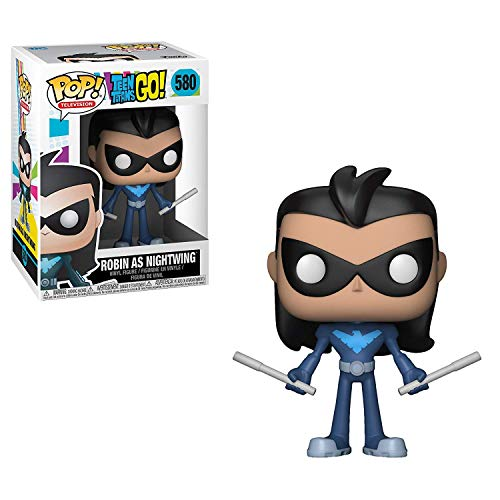 Funko Pop! TV: Teen Titans Go! - Robin As Nightwing Collectible Toy