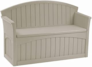 Premium Storage Bench Furniture Seat for Patio Deck or Garden Seating Outdoor in Suncast Small Design  sc 1 st  Amazon.com & Amazon.com: Small Size - Benches / Patio Seating: Patio Lawn u0026 Garden