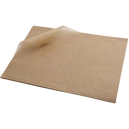 Genware nev-pn0829s fettdicht Papier, 25cm x 20cm, braun (1000Stück)