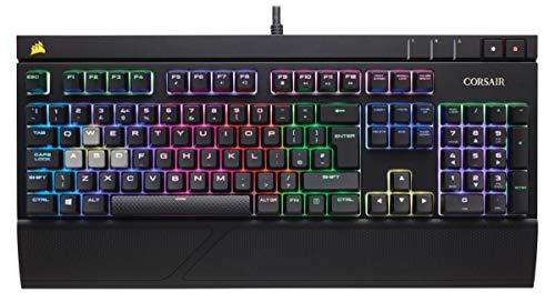 Corsair Strafe RGB Cereza MX silencioso Clavier Gaming Noir