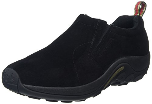 Merrell Herren Jungle Moc Mokassin, Schwarz (Midnight), 41 EU