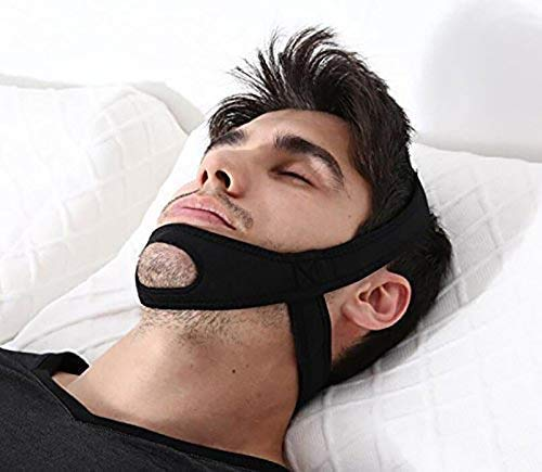 Anti-Ch Chin Strap, Comfortable Natural S Solution, Sn Device, Adjustable...