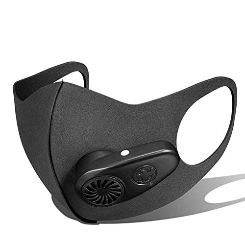 Intelligent Dust Anti-Fog M-A-S-K met Valve Air M-A-S-K tegen luchtverontreiniging, comfortabel en ademend, afwasbaar