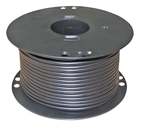 AKO Zaun- und Untergrundkabel, Hochspannungskabel 50m - verzinkt - Mit verzinktem Stahldrahtkern 1,6mm - Praktische 100 Meter Rolle