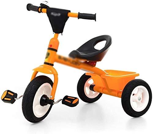 Fahrräder Kinder Dreirad Fahrrad-Kinder eigene Spaziergänger-Jungs-Mädchen-Pedal-Übungs-Fahrrad 3 ~ 10 Jahre alt Fahrrad (Farbe: Rot, Größe: 74x47x64cm) lalay ( Color : Orange , Size : 74x47x64cm )