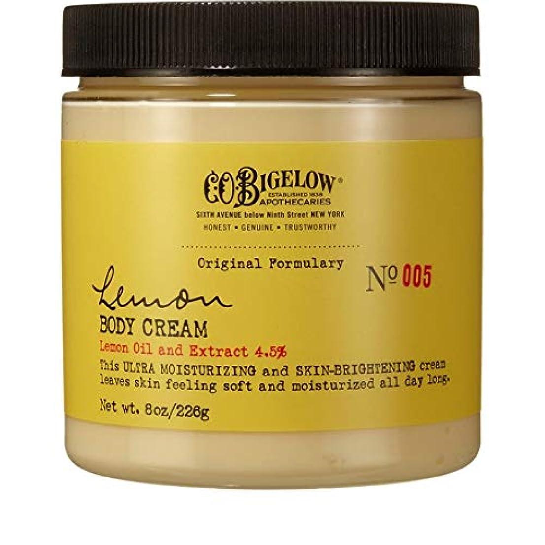 魔法爵ポール[C.O. Bigelow] C.O.ビゲローレモンボディクリーム226グラム - C.O. Bigelow Lemon Body Cream 226g [並行輸入品]