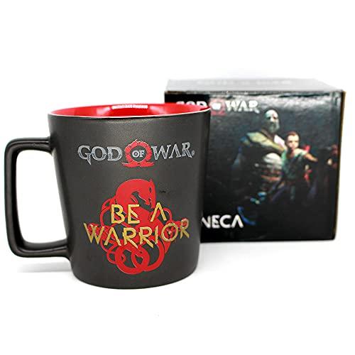 Caneca Buck 400ML God of War Seja um Guerreiro