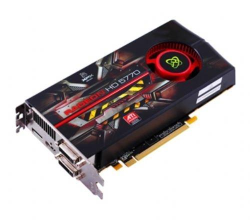 XFX ATI Radeon HD5770 Grafikkarte (PCI-e, 1GB GDDR5 Speicher, 2X DVI, HDMI, DP, 1GPU)