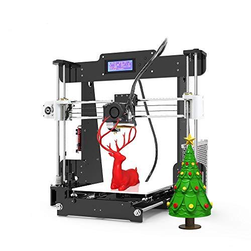 Anet A8 3D Printer, Self-Assembly 0.4mm Nozzle Aluminium Alloy Hotbed...