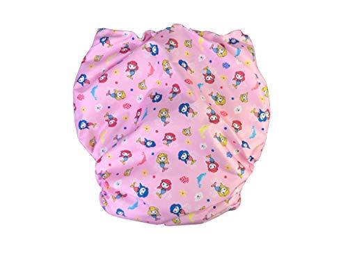 Haian Wiederverwendbare Inkontinenz-Windeln für Erwachsene (XL-XXL, Pink)