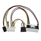 Acxico 1Pcs DC 12V 250W 24Pin Pico ATX Switch DC to DC Power Supply Module for Mini Computer ITX etc.
