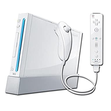 Nintendo Wii Console, White RVL-101 (NEWEST MODEL) [Nintendo Wii]