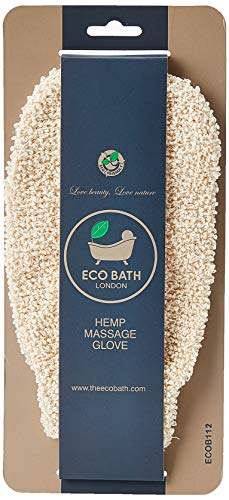 Eco Bath Hemp Massage Glove, Single
