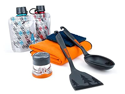 GSI Outdoors Pack Kitchen Tool Set, 8-Piece