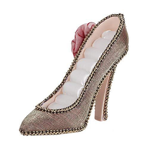 Decoración del hogar simple y elegante, duradera, 1 pieza, soporte de exhibición de collar, soporte de exhibición de joyería de artesanía de resina, para tiendas de(High heels)