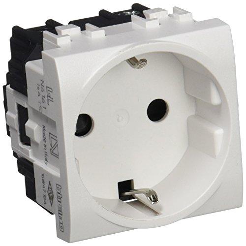 Bticino - n4141 base schuko 2p+t 10/16a light Ref. 6571010056