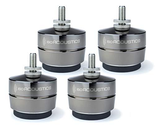 IsoAcoustics Gaia-Serie mit Isolatoren für Lautsprecher und Subwoofer Gaia II, 54 kg max. – 4 Stück