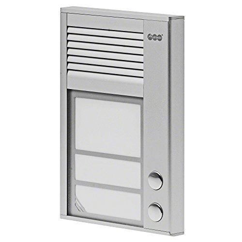 Auerswald TFS-Dialog 202,Türsprechstelle 2Taster Für A/B aluminium