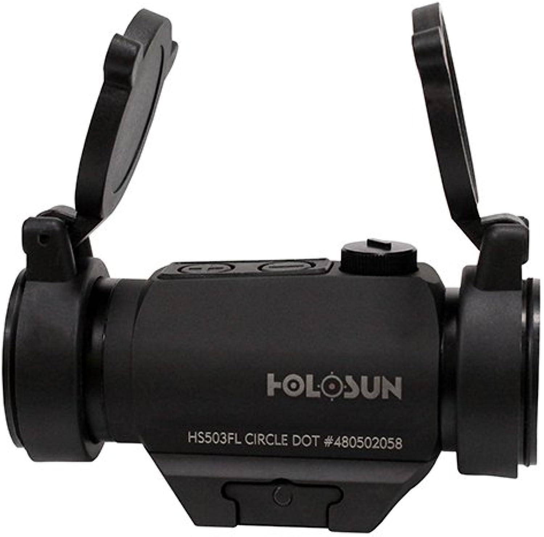 HS503FL Holosun, Paralow Red Dot Sight 1X, 2 MOA Dot; 65 MOA Circle, Matte black