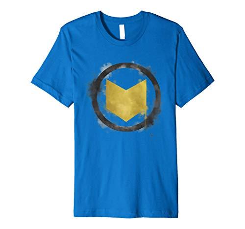 Marvel Avengers Endgame Hawkeye Spray Paint Logo Premium T-Shirt