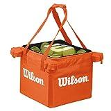 Wilson Tennis Ball Teaching Basket Bag (150 Ball Capacity) - Orange