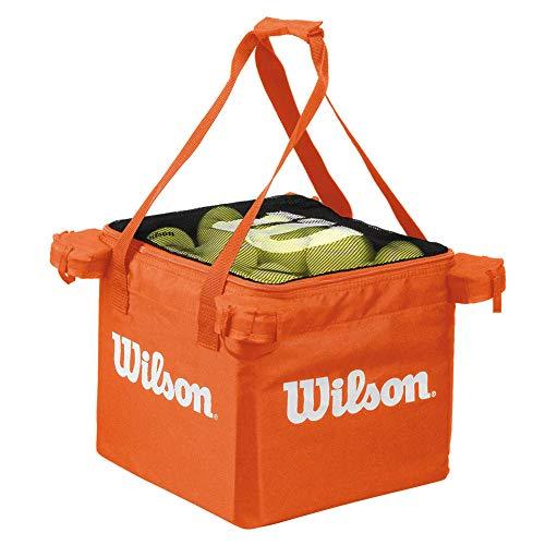 Wilson Tasche für Ballwagen, Tennis Teaching Bag, für bis zu 150 Bälle, orange, WRZ541100