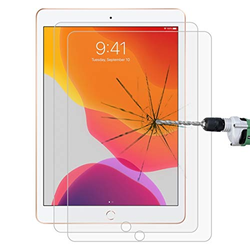 Affordable Screen GGR 25 PCS for IPad 10.2 Inch 9H 2.5D Tempered Glass Film Clear