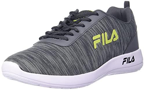 Fila Men's BALDOR Gry/LIM PNCH Running Shoe-8 Kids UK (11007177)