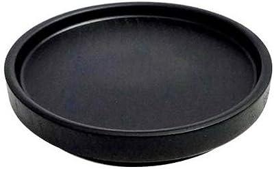 かのりゅう Rev.(レブ) コースター BK・S19-11-3s ブラック Φ9.8×1.5cm 1494809