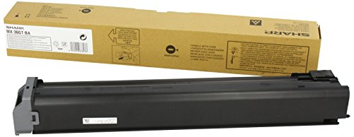 Sharp MX-36GTBA MX-36GTBA Tonerkartusche Standardkapazität 24.000 Seiten 1er-Pack, schwarz