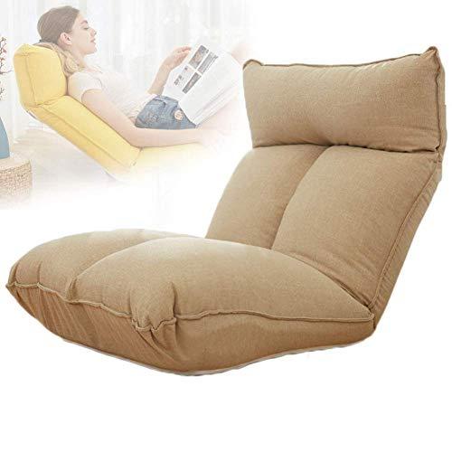 LuoMei Bean Bag Lazy Sofa Beanbag Asiento de Jardín Silla Lounger Chair Asiento Lavable Sofá para Niños, Adolescentes Y Adultos Costuras Fuertes Ergonómico Cómodo Y Moderno Cepillo Adhesivo de Envío