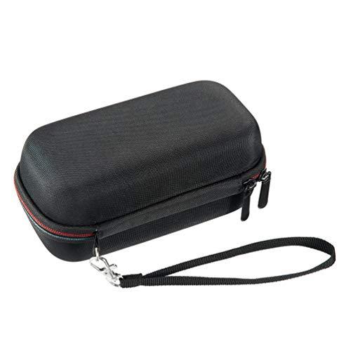 HEALLILY Grabadora Portátil Profesional con Estuche Rígido de Viaje Compatible con Tascam Dr-40X para Grabadoras de Música Cargador Adaptador de Trípode de Micrófono Y Accesorios