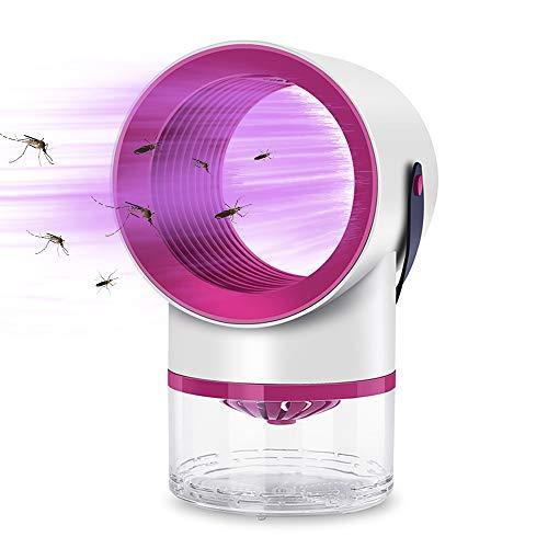 Festnight Elektrische Innenmückenfalle Insekten-Mückenvernichter USB-UV-Lampe Insektenfang Kein Lärm Keine Strahlung Insektenvernichter Fliegen Fallenlampe Kein Zapper
