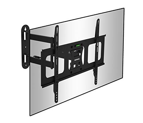 Duronic TVB109M Universale TV-Wandhalterung - Fullmotion: Schwenk-, neig- und rotierbar - Kompatibel mit Bildschirmen von 32