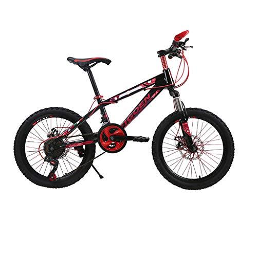 SHUANGA 20 Zoll leichtes Mini-Fahrrad kleines tragbares Fahrrad Erwachsener Student 20 Zoll Mountainbike Männer und Frauen Bequemes Cityräder