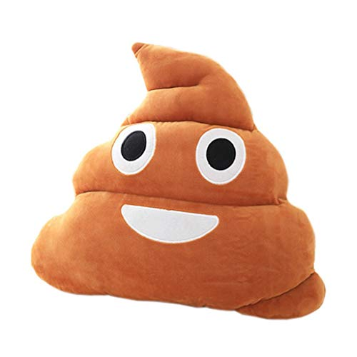 Almohada Felpa Juguete Poo Emoji juguete de felpa de los niños divertido muy lindo sofá cama almohada creativa del hogar del amortiguador decoración es adecuado como un regalo for los niños Cojines pe
