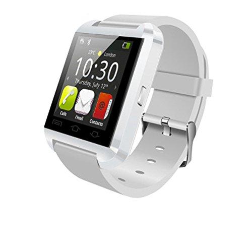 Bluetooth Smart Deportes Reloj de,Toque el podómetro Impermeable de Pantalla smartwatch teléfono Reloj Desbloqueado teléfono Celular,Reloj de Pulsera de Hombres Mujeres niños niños-B