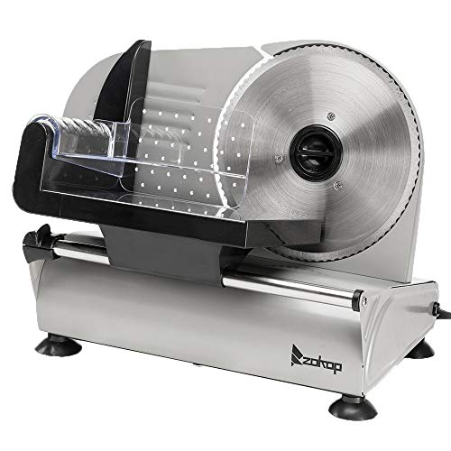 KUPPET 8 inch Stainless Steel Electric Meat Slicer review